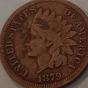 1879. Indian head penny